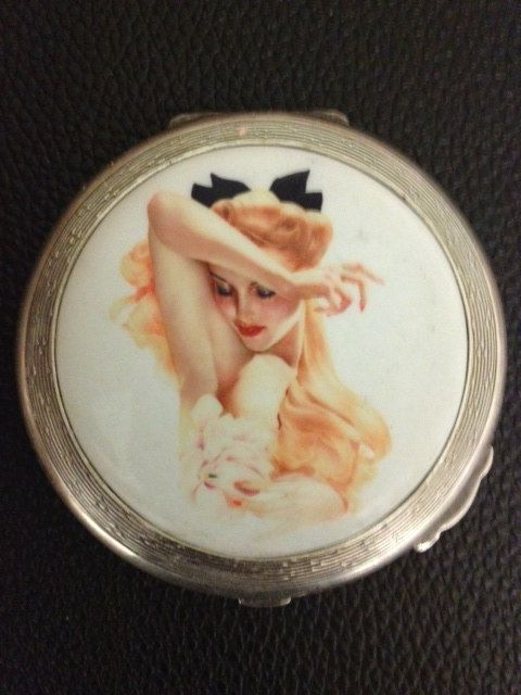 Silver compat by eroticsilverart on Etsy, £225.00