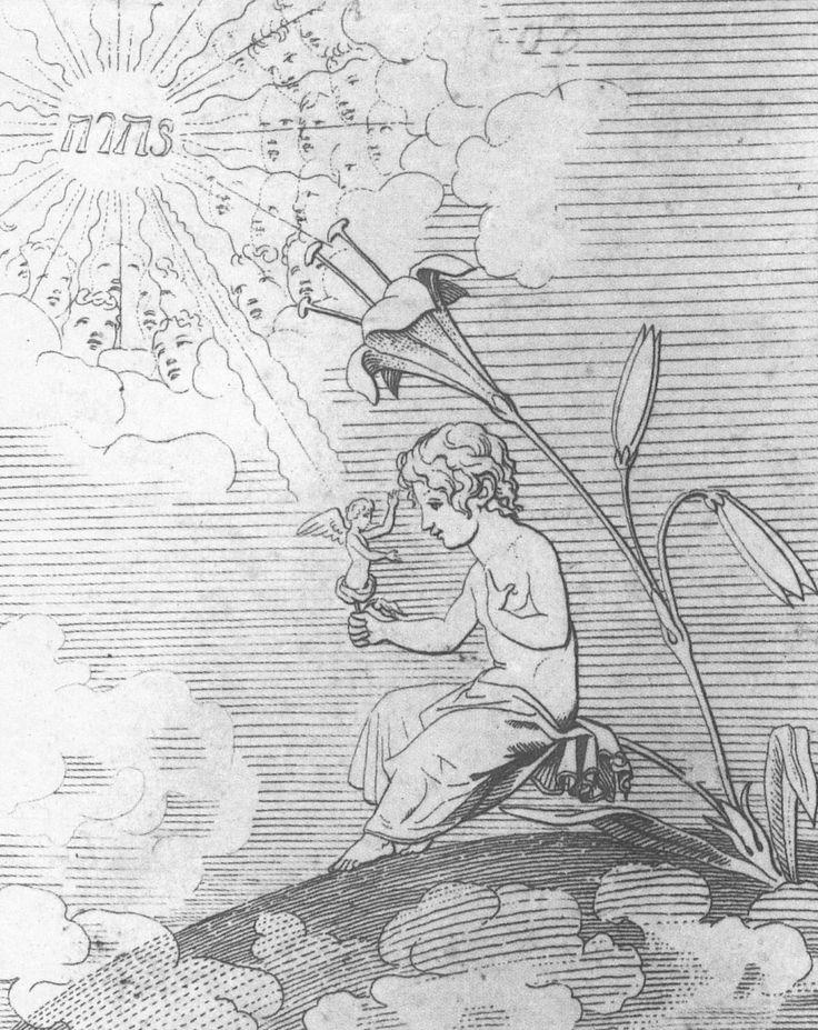 Künstler: Runge, Philipp Otto Entstehungsjahr: 1803 Maße: 71,3 × 48,1 cm Technik: Feder in Schwarz Aufbewahrungsort: Hamburg Sammlung: Kunsthalle Epoche: Romantik Land: Deutschland