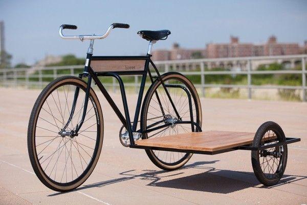 bike with cargo platform sidecar                              …