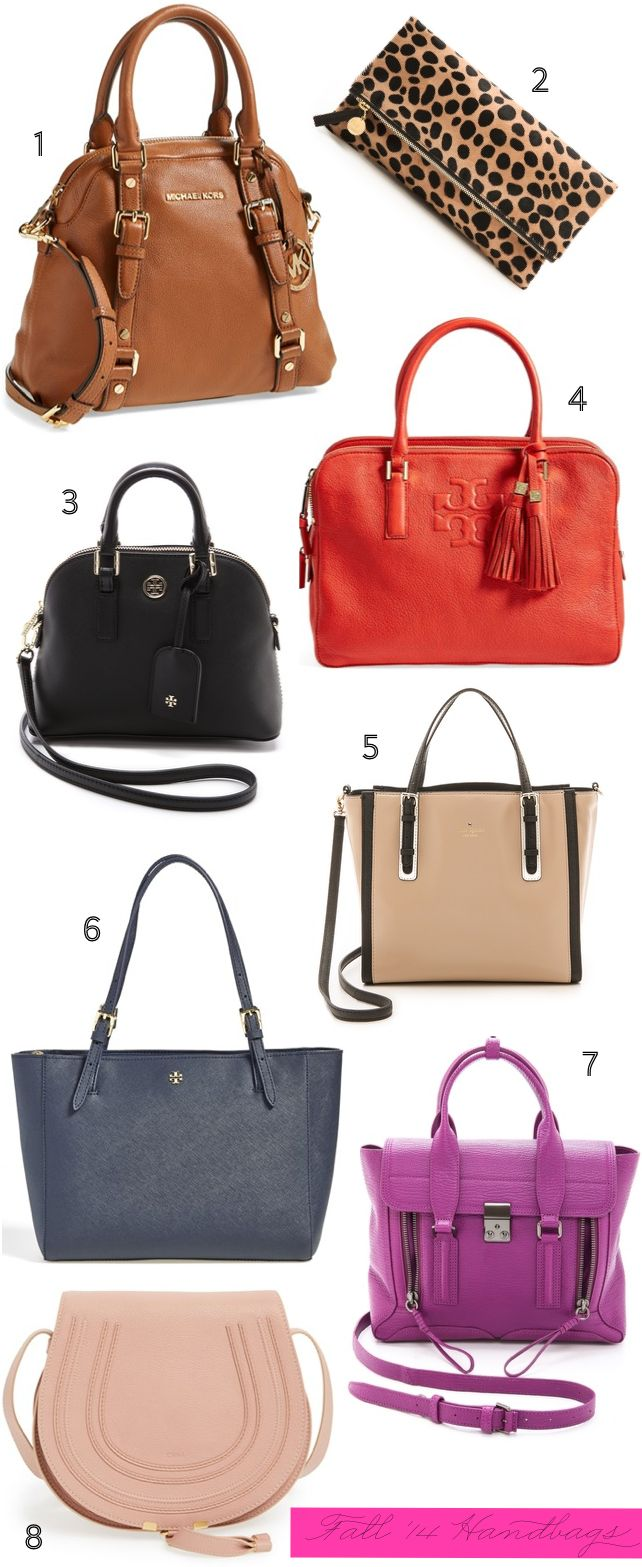 Fall Handbag Shopping