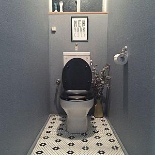 Bathroom/トイレ/toilet /IKEA/DIY/タイル...などのインテリア実例 - 2016-03-04 13:21:56