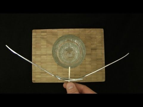 COOL PHYSICS EXPERIMENT - Flying Forks - Defying Gravity ...