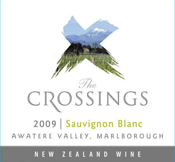 The Crossing Sauvignon Blanc   Marlborough New Zealand.    One of my favorite white wines.
