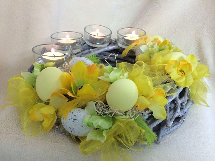 Věnec na svíčky nebo zavěšení