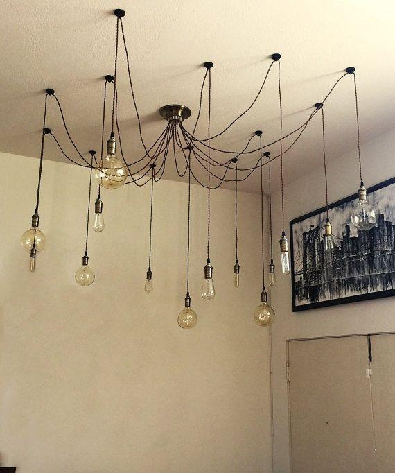 14 Pendant Industrial Chandelier Pendant Lights By: Modern Lighting Unqiue Light Fixture