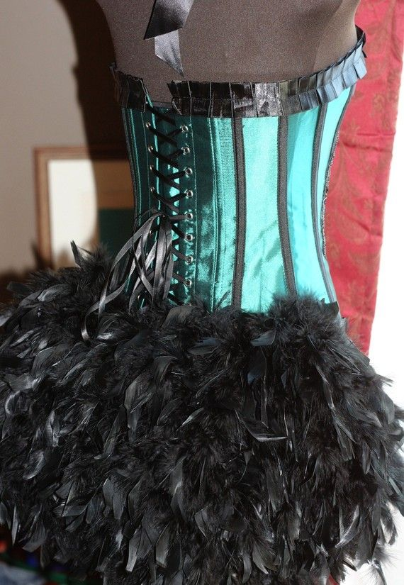 Green Fairy:  How sweet would Eve look as a fairy with lots of feathers and fluff...similar to this.