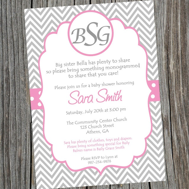 Baby Shower Hostess Gift Ideas Etsy : Best images about monogram baby shower on