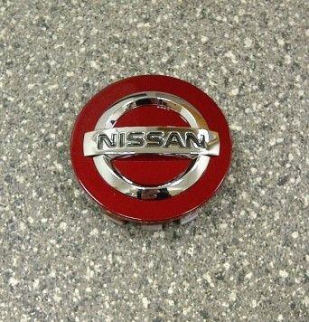 Nissan Force Red Centre Cap, Alloy Wheel - KE40900RED
