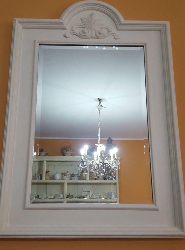 27 migliori immagini shabby chic country provenza e antichit su pinterest decorazione per la - Specchio antichizzato ...