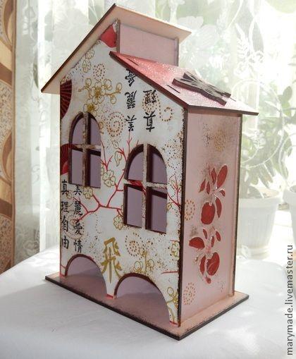 """Кухня ручной работы. Ярмарка Мастеров - ручная работа Чайный домик """"Китайские грезы"""". Handmade."""