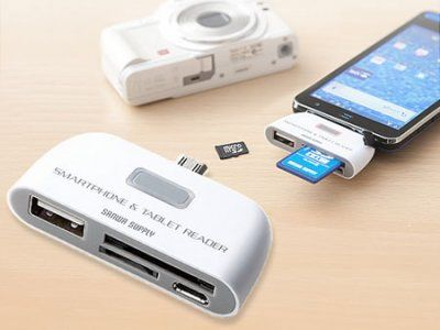 Sanwa USB Card Reader for Android