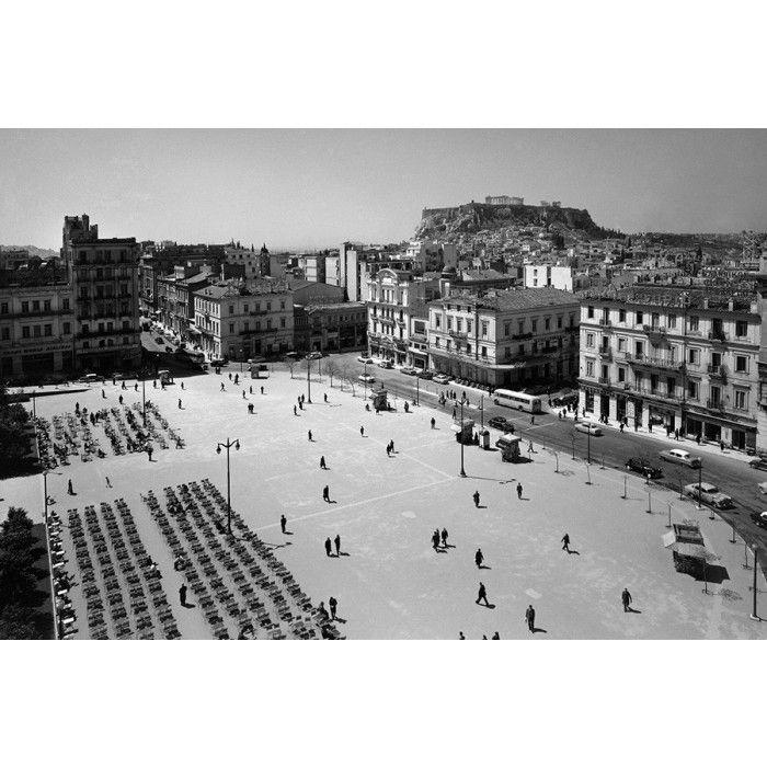 Dimitris Harissiadis, Syntagma square, Athens 1956 - 12650