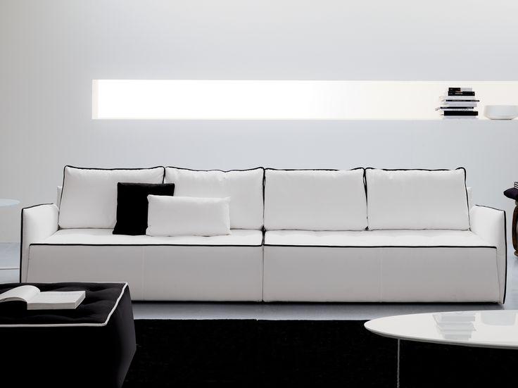 ANTARES 4 seater sofa by Bontempi Casa design Marco Corti