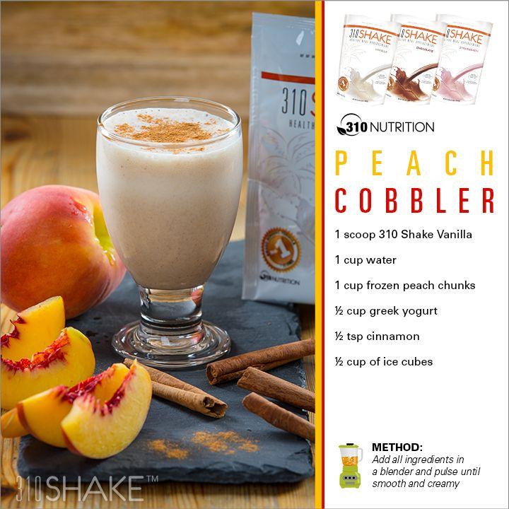 Peach Cobbler #310Shake