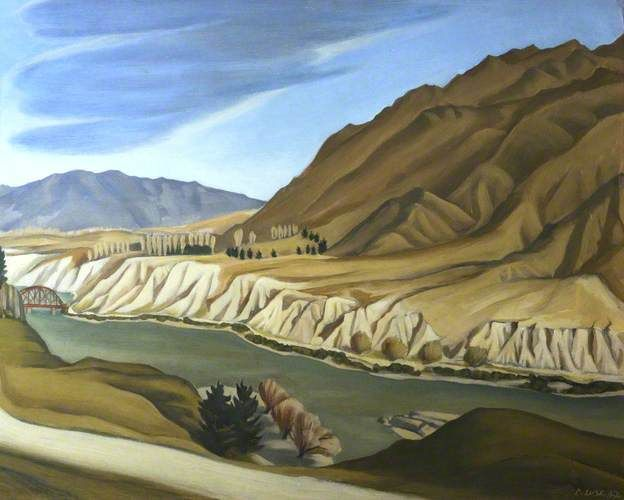 View on the Clutha River at Clyde - doris lusk