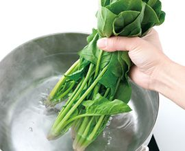ほうれん草のおひたしを作ろう - 料理の基本 | ダイエー[ごはんがおいしくなるスーパー]