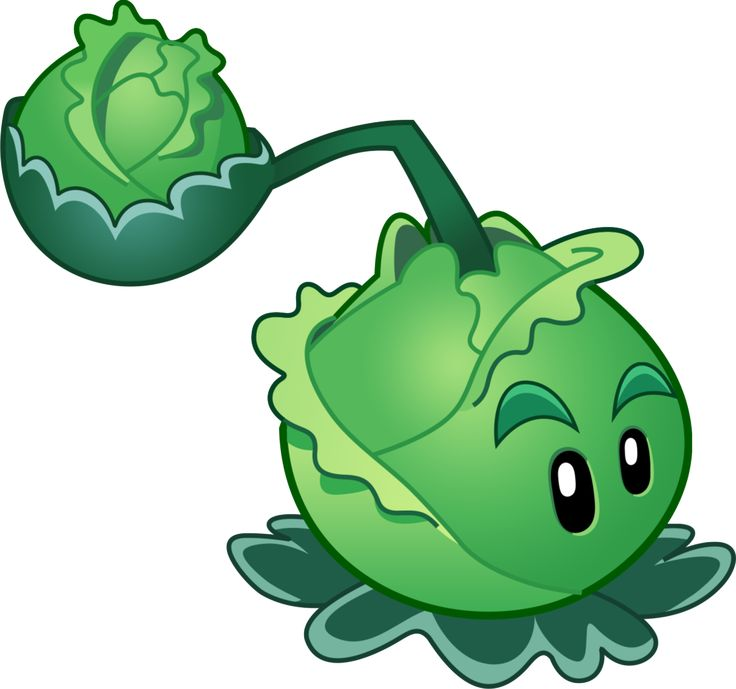 Plants vs Zombies 2 Cabbage-pult (R) by illustation16 on DeviantArt