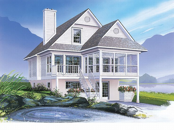Cool 2 Story Coastal Home - aa082f01f3a76b95153d0daff5c413e1--country-house-plans-country-houses  Pic_821750.jpg