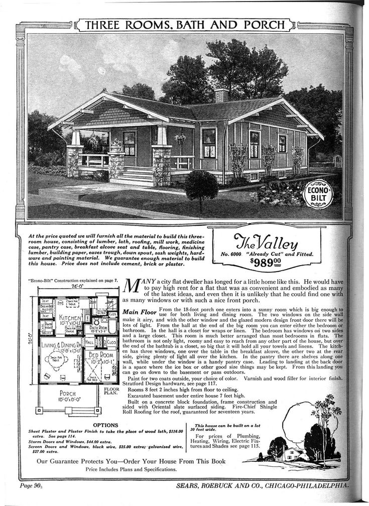 Sears catalog home the valley sears houses pinterest for Catalog houses