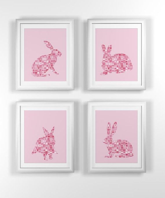 Set of rabbits for nursery theme :-D