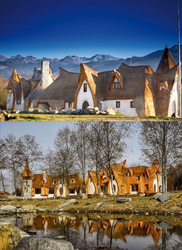 Valea Zanelor-Castle of cley-Romania
