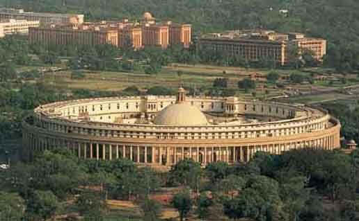 The Parliament of India. New Delhi, India.