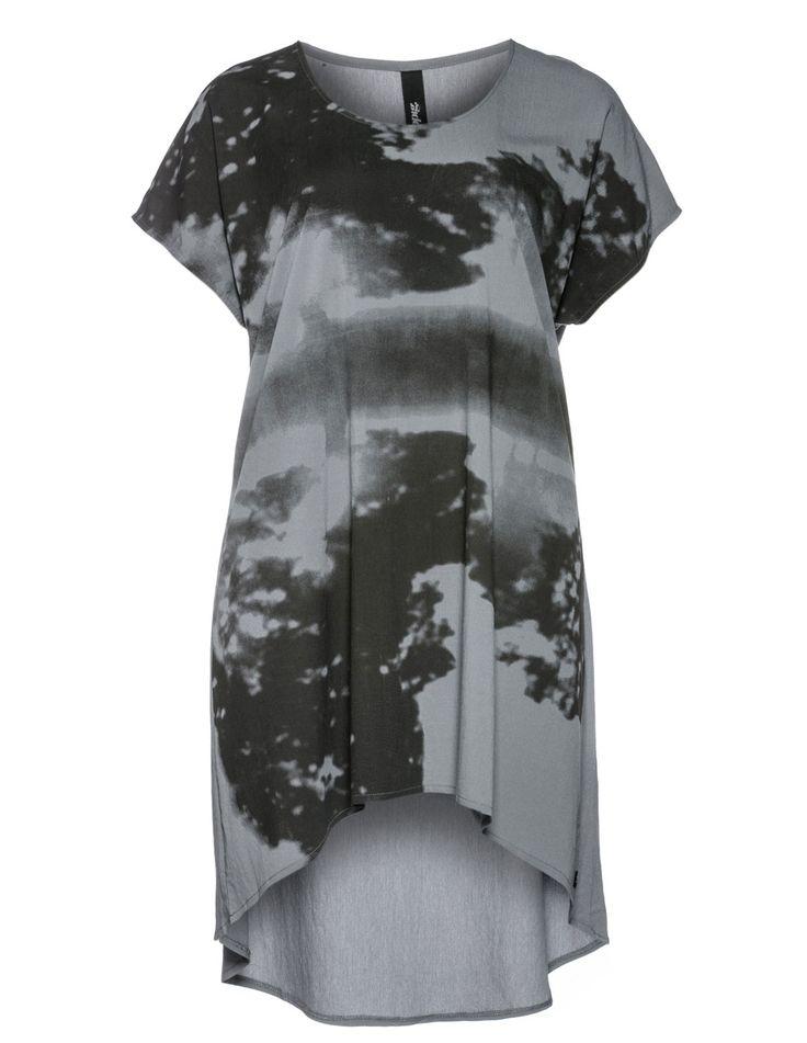 YPPIG - Printed long-line shirt - navabi