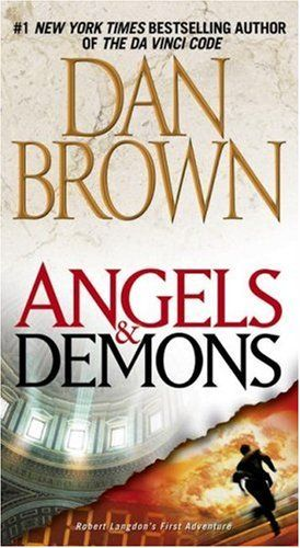 Angels and Demons by Dan Brown. Such a great book!
