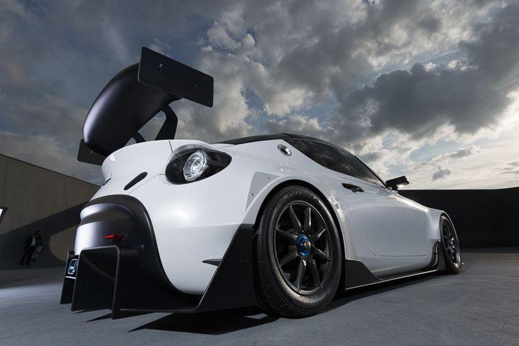 """[画像]トヨタ、「TOYOTA S-FR」のレーシング仕様車「TOYOTA S-FR Racing Concept」を東京オートサロン2016で公開 / 「ヴォクシー」「ノア」の""""G's""""コンセプトカーなどを出展 - Car Watch"""