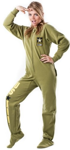 Footed Pajamas offer the best Footed Pajamas U.S. Army Dropseat Footed Pjs - Large. #pajamas #footed