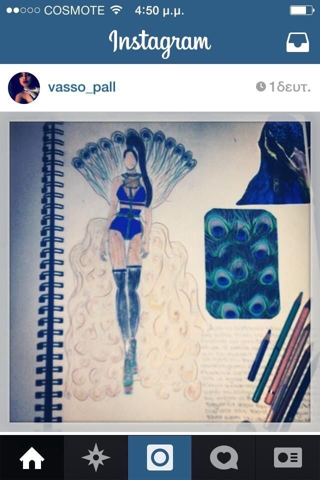My wonderful Peacock,F/W 2015-16!!!!!! My passion,My design!!!