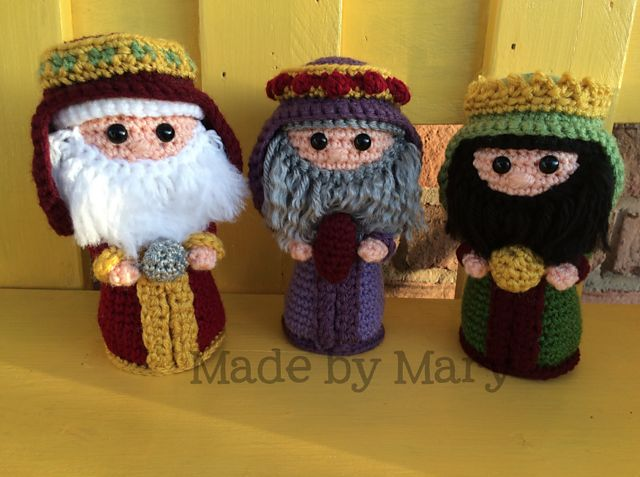 1263 best crochet christmas and winter images on pinterest nativity wise men amigurumi pattern by mary smith fandeluxe Choice Image