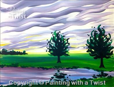 1208 best painting with a twist paintings images on for Painting with a twist fenton mi