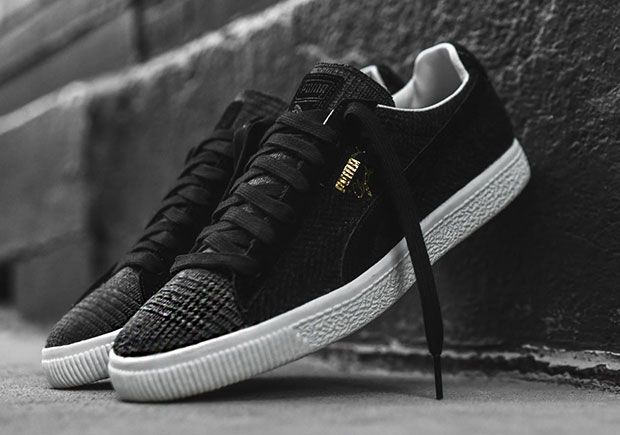 #sneakers #news  Various Patterns Adorn The United Arrows x Puma Clyde In A Premium Wool Upper