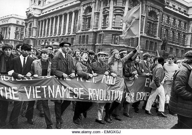 Image result for vietnam protest london 1968