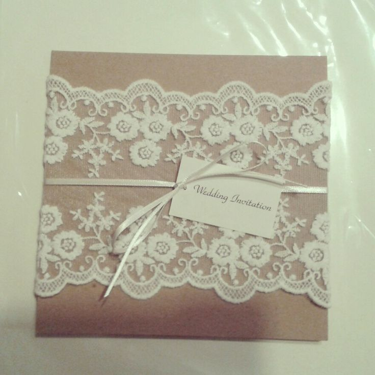 My rustic inspired homemade wedding invites! ! Love!! Can finally pin as have them all posted now!!!