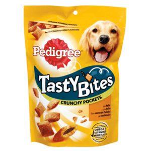 PEDIGREE snack para perros tasty bites con pollo bolsa 140 gr