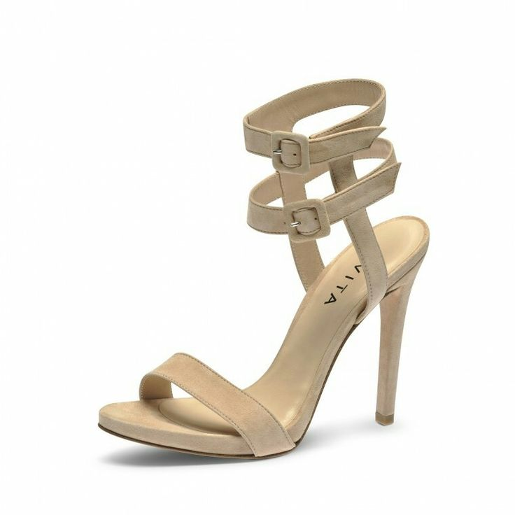 High heels nude from evita shoes, for party outfit or working girl outfit