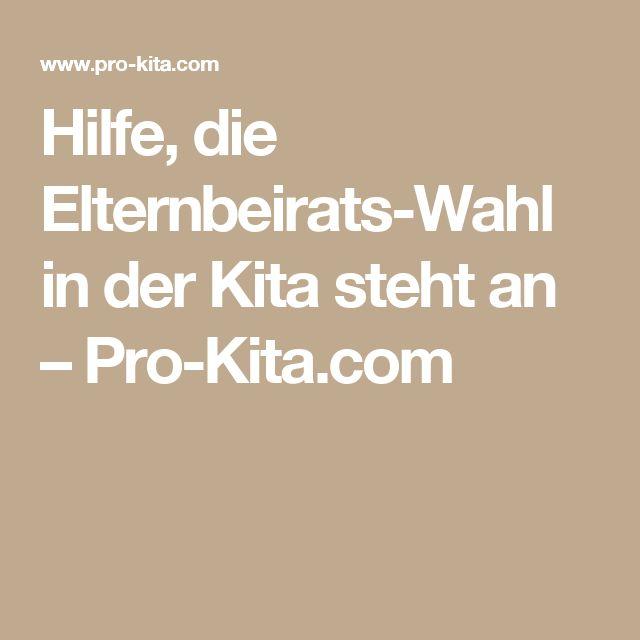 Hilfe, die Elternbeirats-Wahl in der Kita steht an – Pro-Kita.com