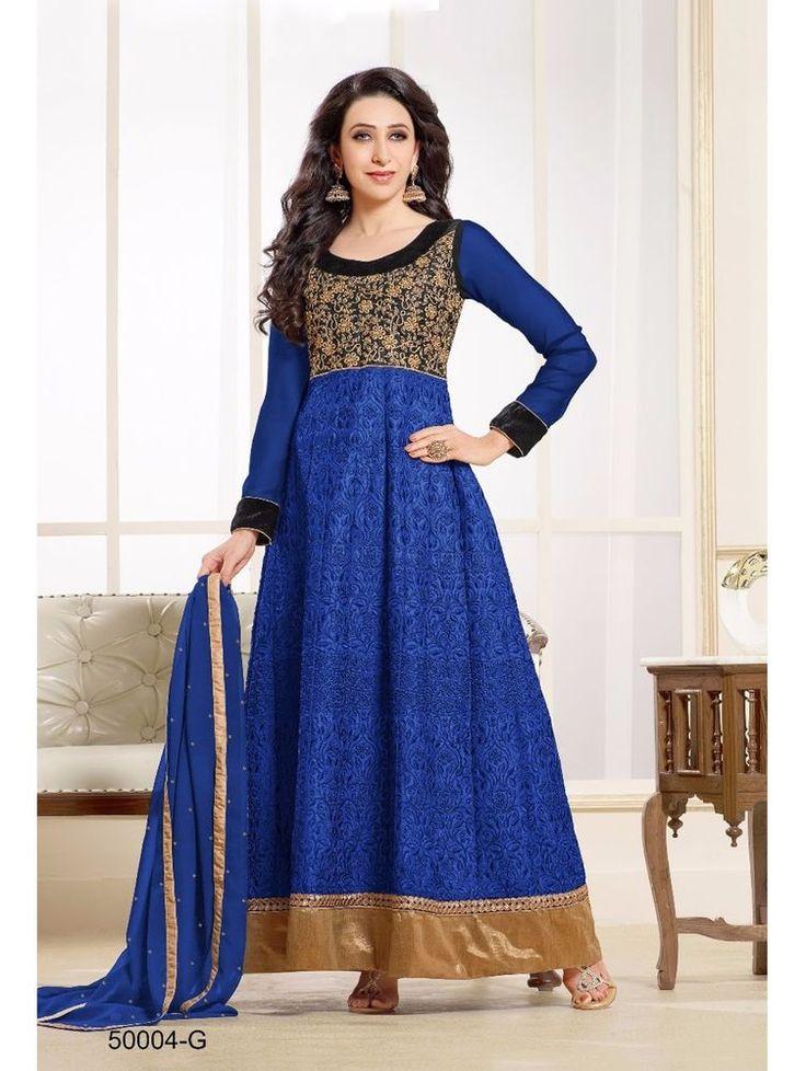 Pakistani Bollywood Indian Designer Kameez Anarkali Suit Ethnic Salwar Dress New #TanishiFashion