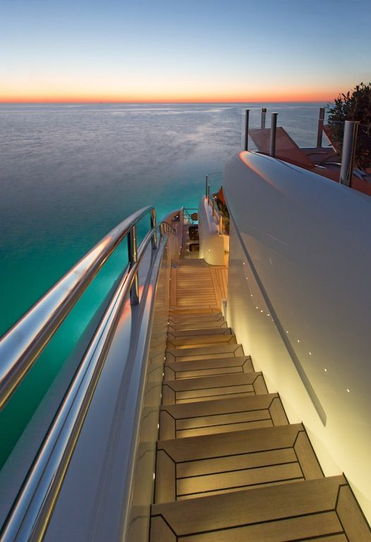 Luxury Yacht Interiors | Images of the 50m ISA Yachts PAPI DU PAPI superyacht with interior by ...