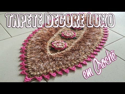 Carpet Crochet - Tapete Decore Luxo em Crochê - YouTube