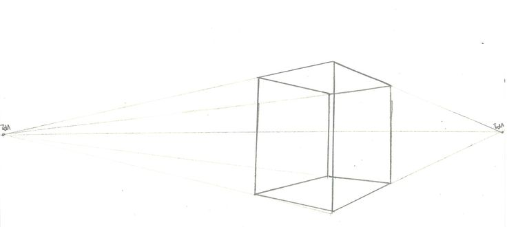 Page 8: 2 Point Perspective Cube