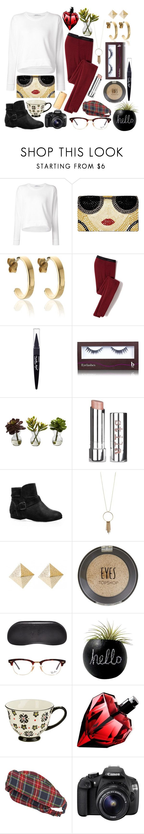 """""""Marooned"""" by katherine-loves-soup ❤ liked on Polyvore featuring Mode, T By Alexander Wang, Alice + Olivia, BAM-B, Icebreaker, Maybelline, BBrowBar, Nearly Natural, Stila und Avenue"""