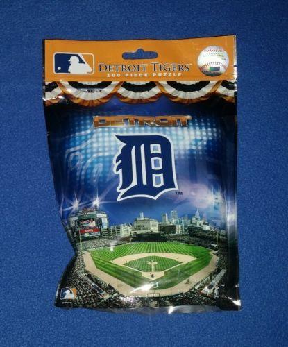 MLB Detroit Tigers Baseball Comerica Park Puzzle New!