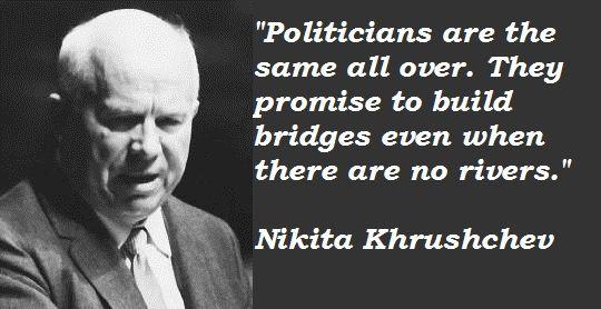 Premier Nikita Khrushchev Quotes. QuotesGram