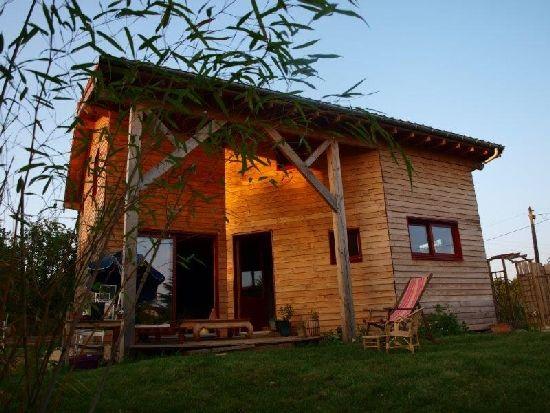Maison Ossature Bois Par Bois Et Paille (86)