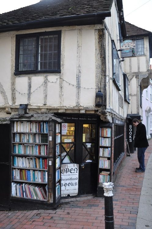 Book shop in Lewes, Sussex | Probably the oldest book shop in the country.