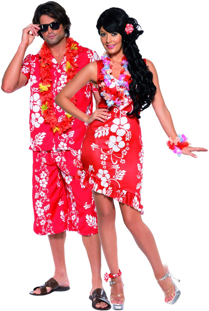 Polynesian costumes for women main adults costumes hawaiian costume for couples presents - Deguisement halloween couple ...
