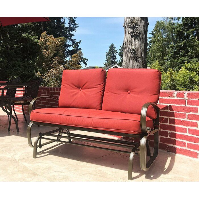 Daybed Swing Outdoor Rocking Chairs, Outdoor Rocking Bench With Cushions